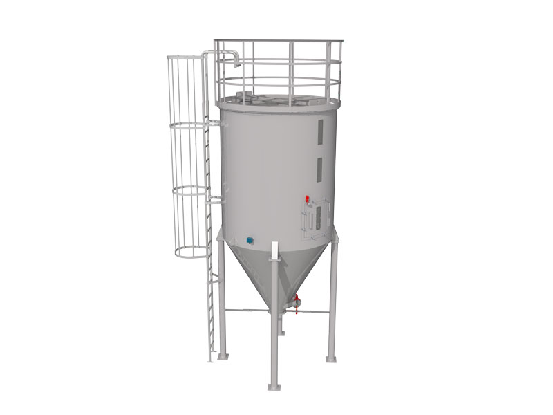Silo Lager 01 Cooling Powder