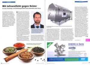 Artikel KREYENBORG in der Lebensmitteltechnik
